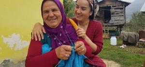 Fındık bahçesinden dizi setine 65 yaşında bir anne ve kızının kıskandıran hikayesi Karadeniz'in zor coğrafyasında, Ordu'nun küçük bir köyünden dizi setine uzanan bir hikaye