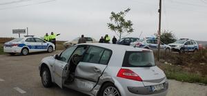 Tekirdağ'da zincirleme kaza: 1 yaralı