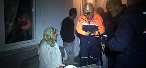 Kaybolan kadını AFAD ekipleri fındık deposunda buldu
