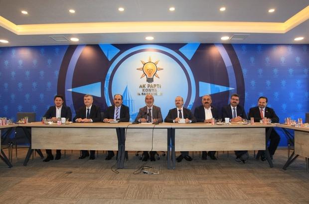 Konya'da metro projesinin detayları konuşuldu