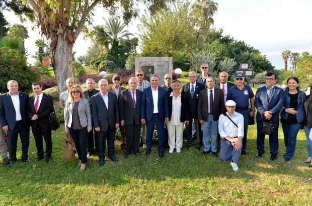 Muratpaşa'da Yüzbaşı Mustafa Ertuğrul anıldı