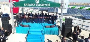 Karatay Güneş Enerji Santrali hizmete açıldı