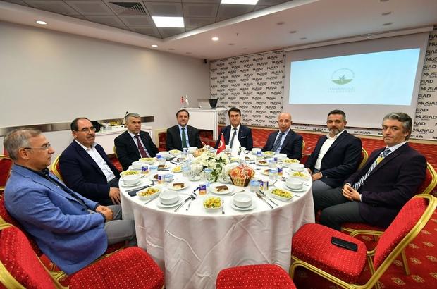 """Dündar sosyal belediyeciliği anlattı Başkan Mustafa Dündar: """"Şehrimizi vizyon projelerle donatacağız"""""""