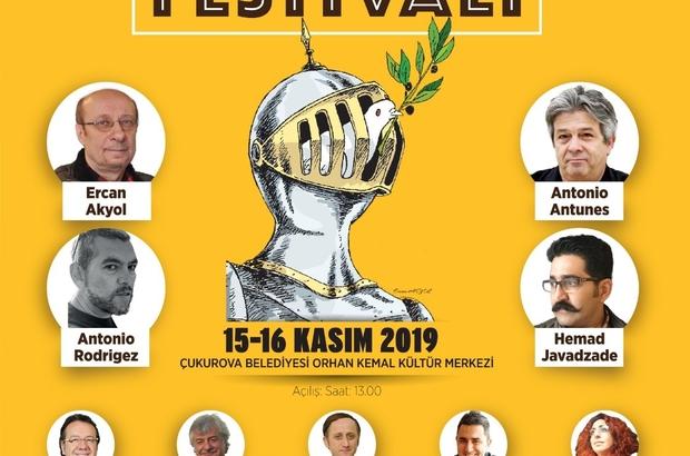 Karikatür Festivali için geri sayım başladı Çukurova Belediyesinin düzenlediği 4. Uluslararası Çukurova Karikatür Festivali 15-16 Kasım tarihleri arasında gerçekleşecek