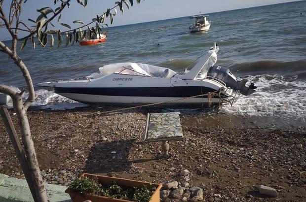 Yurt dışına gitmek için sürat teknesi çaldılar