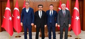 Vali Güzeloğlu belediye başkanlarıyla buluştu