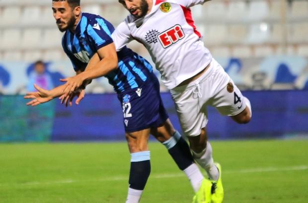 TFF 1. Lig: Adana Demirspor: 1 - Eskişehirspor: 1 (İlk yarı sonucu)