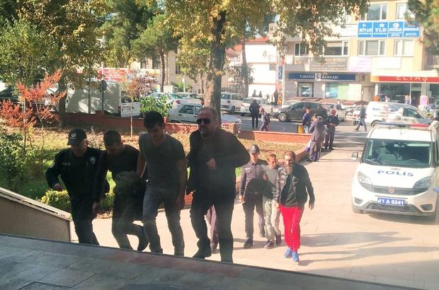 Osmaneli'de uyuşturucu operasyonunda 3 tutuklama