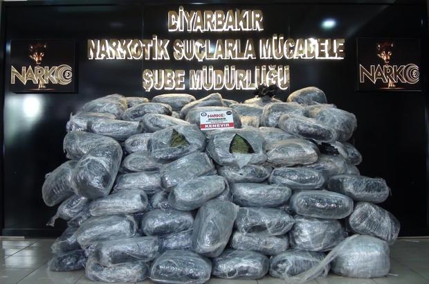 Terörün finans kaynağına büyük darbe, kullanıma hazır 489 kilogram esrar ele geçirildi Diyarbakır'da uyuşturucu tacirlerine göz açtırılmıyor