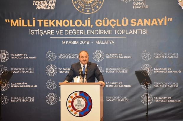 """Bakan Varank, Malatya'da iş dünyası ile bir araya geldi """"Ülkemizi kritik teknolojilerde ve yüksek katma değerli ürünlerde vazgeçilmez bir küresel oyuncu yapmanın derdindeyiz"""""""
