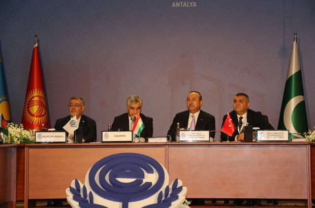 Bakan Çavuşoğlu EİT Dönem Başkanı seçildi Türkiye EİT Dönem Başkanlığını devraldı 24. EİT Bakanlar Konseyi Toplantısı