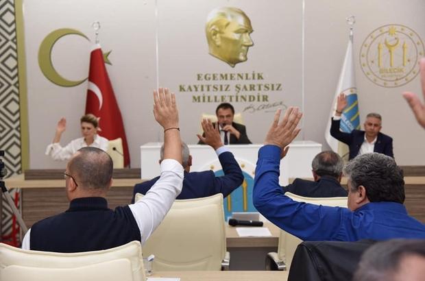 Bilecik Belediye Meclisi'nin ikinci oturumu yapıldı Birçok yerli ve yabancı kardeş kent ilişkilerinin sonlandırılmasına karar verildi