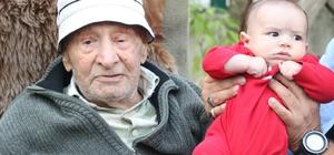 """79 torunu olan ve 100 yaşına giren yaşlı adama torunlarından doğum günü sürprizi Birol Ekşioğlu: """"Babam bilge bir insan. Tam bir Türk bilgesi"""""""