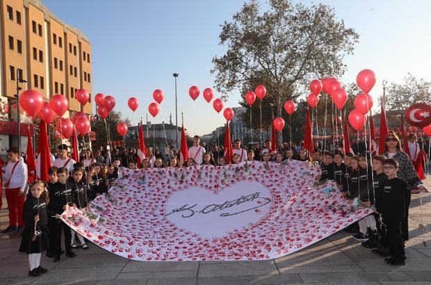 Sakarya'da 10 Kasım Atatürk'ü anma etkinlikleri