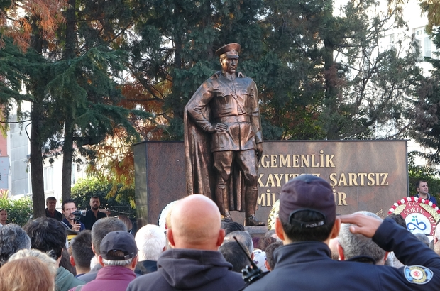 10 Kasım Atatürk'ü Anma Günü Atatürk Çorlu'da da anıldı