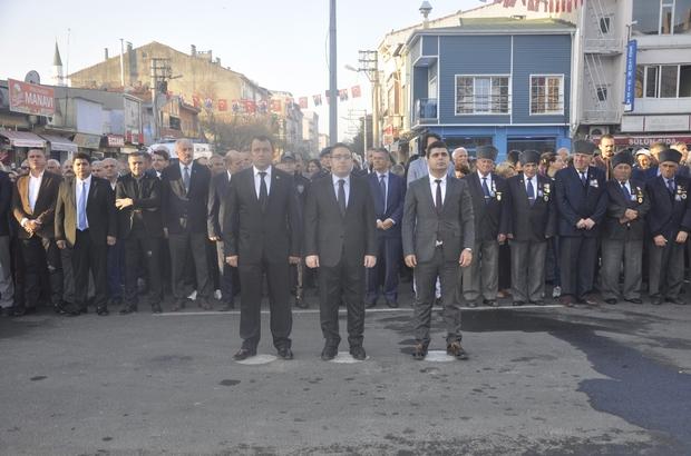 Atatürk, Muratlı'da düzenlenen törenlerle anıldı