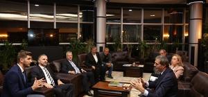 Bosna Hersek Ankara Büyükelçisi Sadoviç'ten Başkan Alemdar'a ziyaret