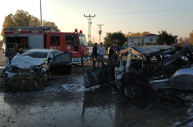 Samsun savcısı kaza yaptı: 1 ölü, 7 yaralı Samsun Cumhuriyet Savcısı Ümit Yılmaz'ın 8 yaşındaki kızı kazada hayatını kaybederken, eşi ve kendisi ise ağır yaralandı.