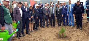 Nazilli'de 45 bin fidan 'geleceğe nefes' sloganıyla toprakla buluşturuldu