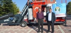 Beylikova Belediyesi'nden üreticiye destek