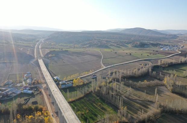 Aralık ayı sonunda Yüksek Hızlı Tren Sivas'ta