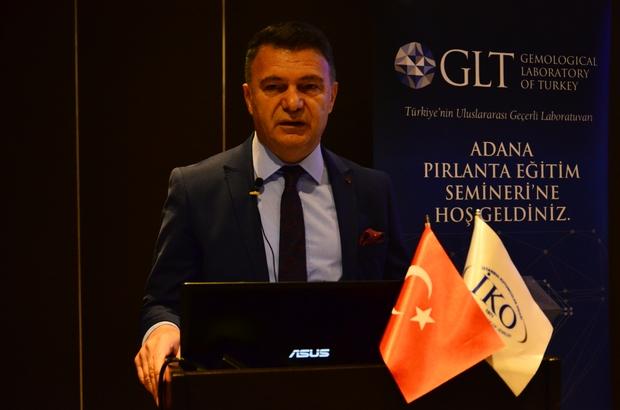 """Kuyumculara pırlanta eğitimi İstanbul Kuyumcular Odası Başkanı Mustafa Atayık: """"Son 10 yıl içerisinde iç piyasada özellikle pırlantalı mücevherlere olan talep oldukça arttı"""" """"Bugün, evlenen 10 çiftin 3-4 tanesi, pırlantalı mücevher istiyor"""" """"3 kilograma kadar olan hurda altının gümrüklerden geçişi kolaylaştırılmalı"""""""