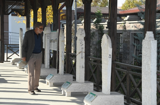 Konya Büyükşehir, tarihi mezar taşlarına sahip çıkıyor