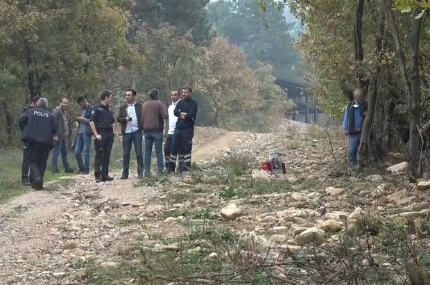 Ağaca asılı halde erkek cesedi bulundu