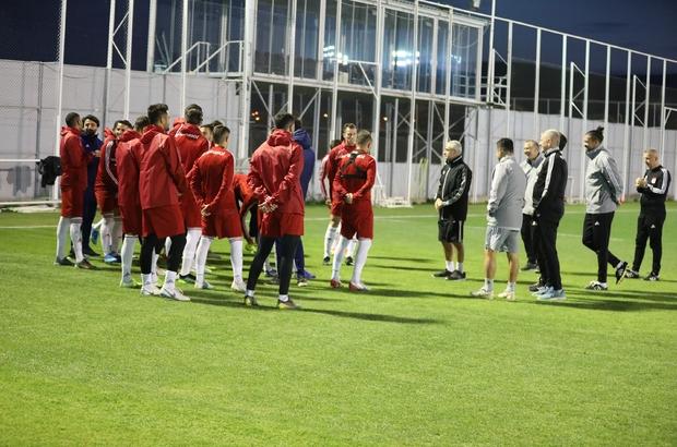 Lider Sivasspor'da Kayseri mesaisi başladı
