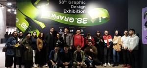 """SUBÜ'lü öğrenciler """"İstanbul Grafik Tasarım Günleri""""ne katıldı"""