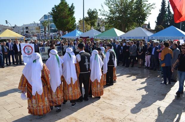 Didim'de Yöresel Dernekler Festivali başladı İlçedeki ilk kez düzenlenecek etkinlikte Erzincanlılar kültürünü tanıtıyor