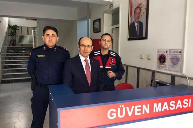 Söke Jandarma da 'Güven Masası' oluşturuldu