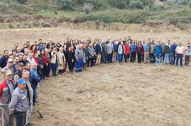ADÜ öğrencileri 20 bin fidan dikti ADÜ, binlerce fidanı toprakla buluşturdu