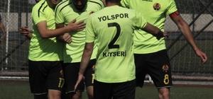 Kayseri Süper Amatör Küme 9. Hafta Kayseri Yolspor - Özvatan Gençlikspor: 1-0