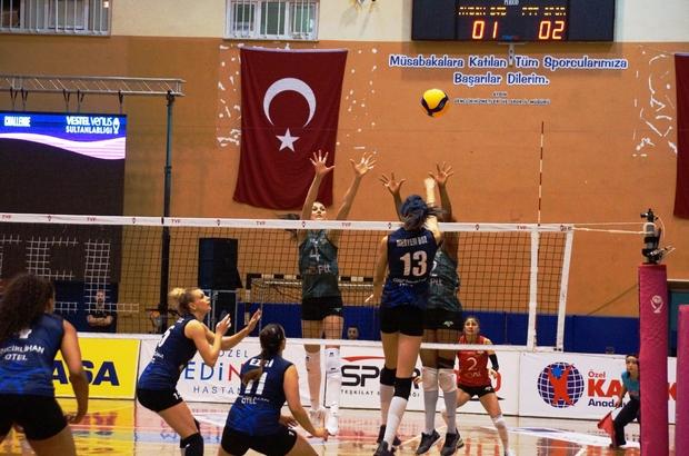Vestel Venüs Sultanlar Ligi: Aydın Büyükşehir Belediyespor: 3 - PTT: 2