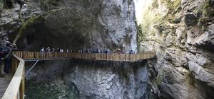 Horma Kanyonu'na 3 kilometrelik yürüyüş parkuru yapıldı