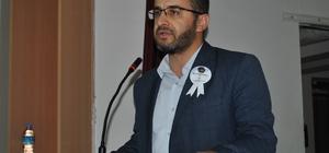 """Sarıcakaya'da 'Mevlid-i Nebi Haftası' etkinliği ESOGÜ İlahiyat Fakültesi Öğretim üyesi Doç. Dr. Mustafa Öztoprak: """"Yaşanmayan din zaten bizim dinimiz değildir"""""""