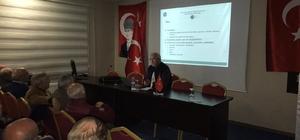 Prof. Dr. Hakan Hadi Kadıoğlu'ndan konferans Prof Dr. Kadıoğlu: 'Erzurum topraklarının 'Türk' ile karşılaşması yaygın bilinenden daha öncesine dayanmaktadır'