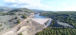 Balıkesir Balya Değirmendere Barajı sulamaya hazır Yıllık 1 milyon 822 bin lira gelir artışı sağlayacak