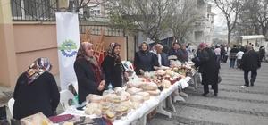 Ergeneli kadınlar el emeği ürünlerini Malkara'da satışa sundu