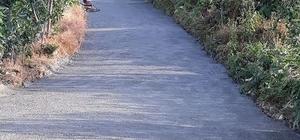 Rize'nin Ardeşen ilçesine bağlı Kurtuluş Köyü'nde yol sorunu çözüldü Bin 150 metrelik yol 10 gün içerisinde köy halkının çalışmalarıyla tamamlanarak bitirildi