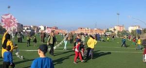 Türkeli'de uçurtma şenliği