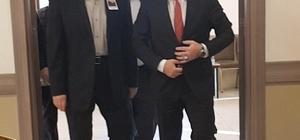 Belediye Başkanı Doğan İnşaat Mühendisi Küçükcan'ın taziyesine katıldı