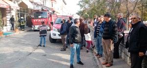 Yangın paniği vatandaşı sokağa döktü