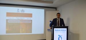 """Balıkesir'de """"Türkiye Enerji Politikaları semineri düzenlendi"""