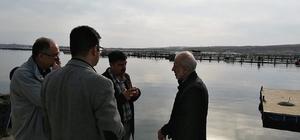 Harran Üniversitesinden alabalık üreticilerine teknik destek
