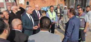 Hendek Belediyesi mahalle yenileme çalışmalarına devam ediyor