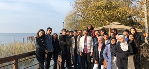 Yabancı öğrenciler tarihi ve doğal güzelliklere konuk oldu