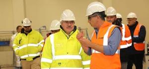 Başkan Cengiz'den maden şirketine ziyaret