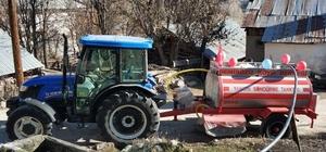 """""""Her şeyi devletten beklememek lazım"""" sözünün en güzel örneği Giresun'da gerçekleşti Köylü yangınlara karşı kendi su tankerlerini yaptırdı"""
